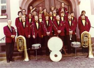 Stadtkapelle im Jahr 1977